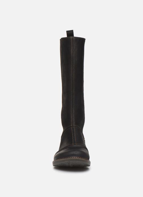 Bottes Art BERGEN 1098 Noir vue portées chaussures