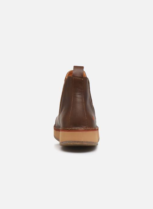 Bottines et boots Art ORLY 1601 Marron vue droite