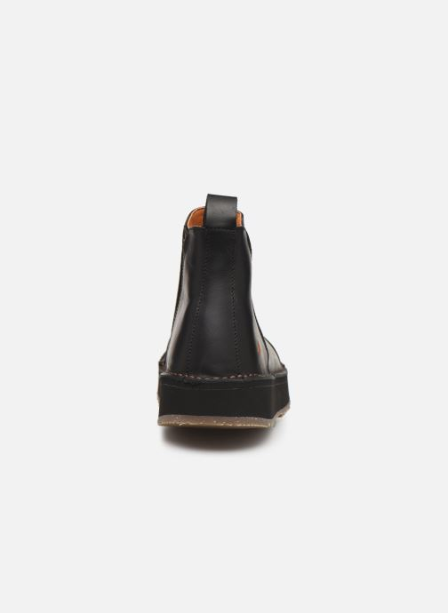 Boots en enkellaarsjes Art ORLY 1601 Zwart rechts