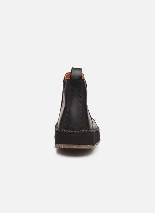 Bottines et boots Art ORLY 1601 Noir vue droite