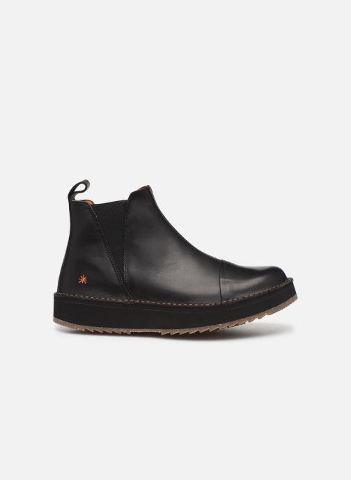Boots en enkellaarsjes Art ORLY 1601 Zwart achterkant