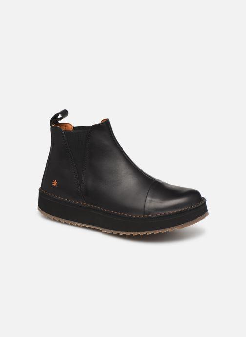 Boots en enkellaarsjes Art ORLY 1601 Zwart detail