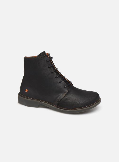 Ankelstøvler Art BERGEN 1096 Sort detaljeret billede af skoene