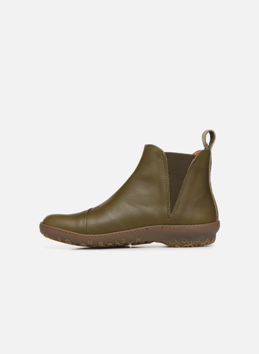 Boots en enkellaarsjes Art ANTIBES 1428 Groen voorkant