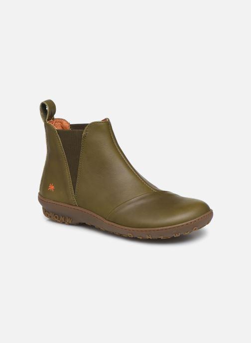 Boots en enkellaarsjes Art ANTIBES 1428 Groen detail