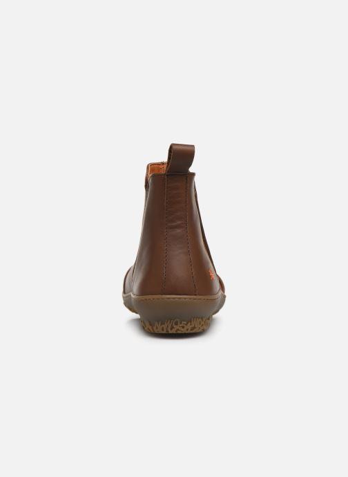 Boots en enkellaarsjes Art ANTIBES 1428 Bruin rechts