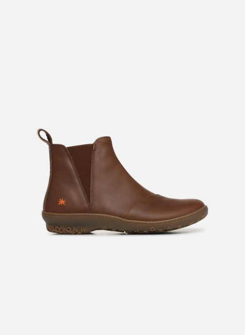 Boots en enkellaarsjes Art ANTIBES 1428 Bruin achterkant