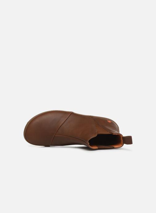 Boots en enkellaarsjes Art ANTIBES 1428 Bruin links