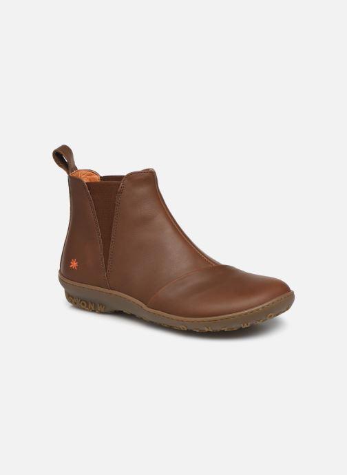 Boots en enkellaarsjes Art ANTIBES 1428 Bruin detail