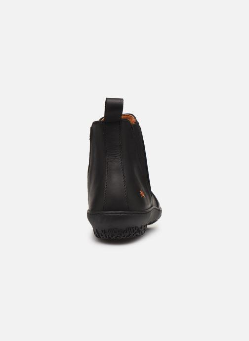 Boots en enkellaarsjes Art ANTIBES 1428 Zwart rechts