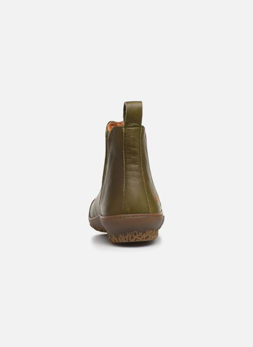 Boots en enkellaarsjes Art ANTIBES 1428 Groen rechts