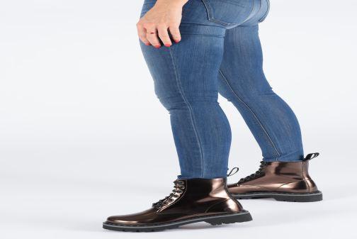 Bottines et boots Art MARINA 1176T Or et bronze vue bas / vue portée sac