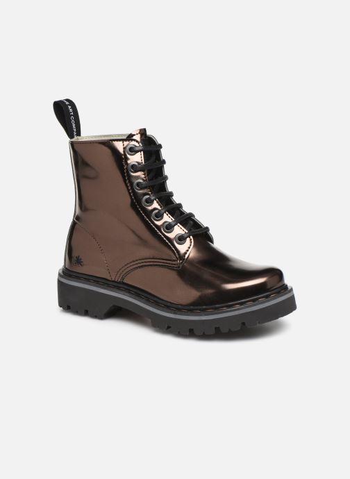 Bottines et boots Art MARINA 1176T Or et bronze vue détail/paire