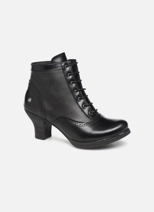 Ankelstøvler Art HARLEM  1069 Sort detaljeret billede af skoene