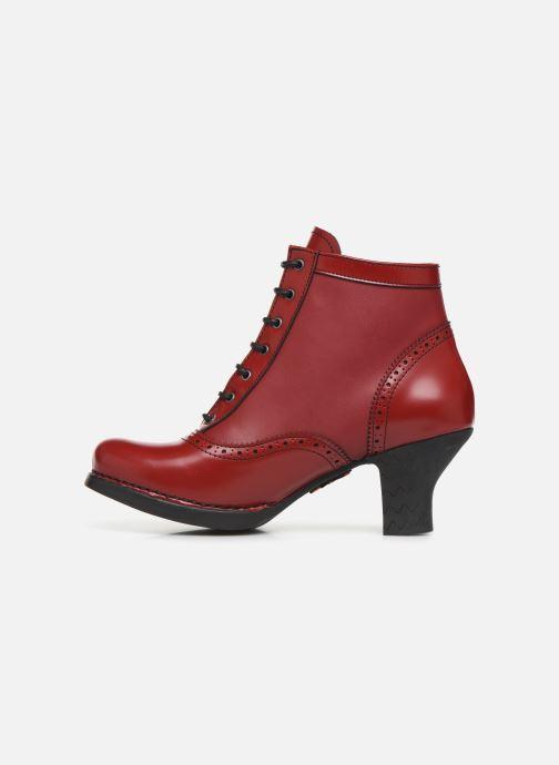 Stiefeletten & Boots Art HARLEM  1069 rot ansicht von vorne