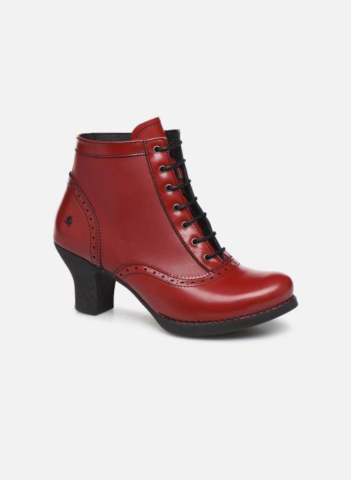 Ankelstøvler Art HARLEM  1069 Rød detaljeret billede af skoene