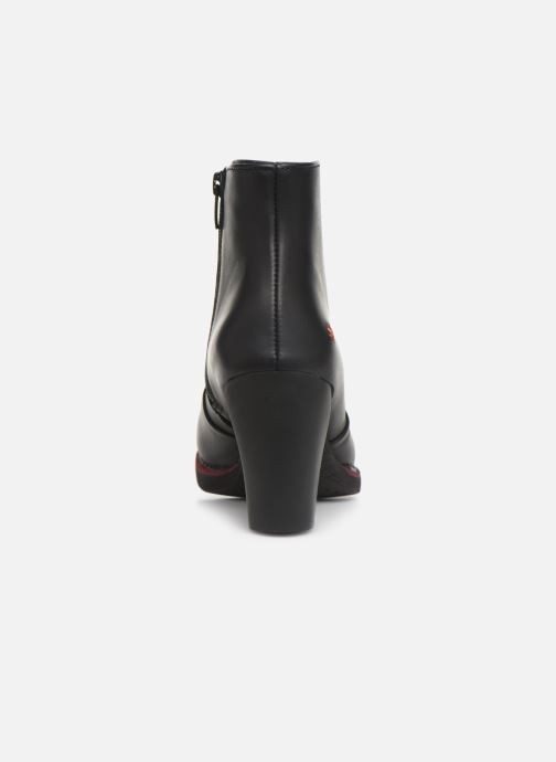 Bottines et boots Art GRAN VIA  1142 Noir vue droite