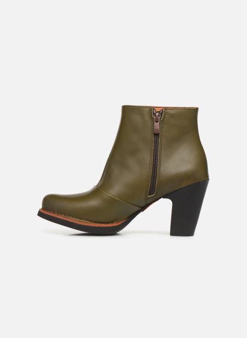 Stiefeletten & Boots Art GRAN VIA  1142 grün ansicht von vorne