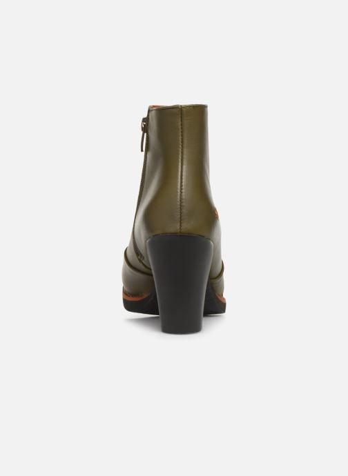 Stiefeletten & Boots Art GRAN VIA  1142 grün ansicht von rechts