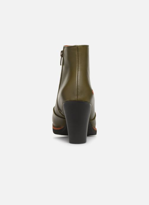 Bottines et boots Art GRAN VIA  1142 Vert vue droite