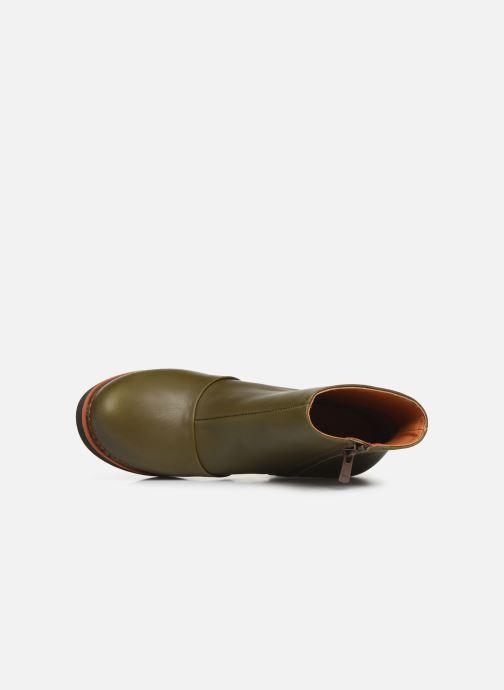 Stiefeletten & Boots Art GRAN VIA  1142 grün ansicht von links
