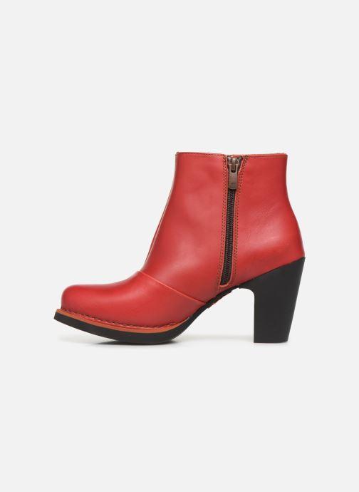 Stiefeletten & Boots Art GRAN VIA  1142 rot ansicht von vorne