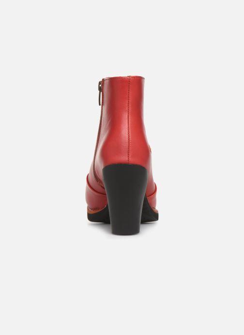 Boots Art GRAN VIA  1142 Röd Bild från höger sidan