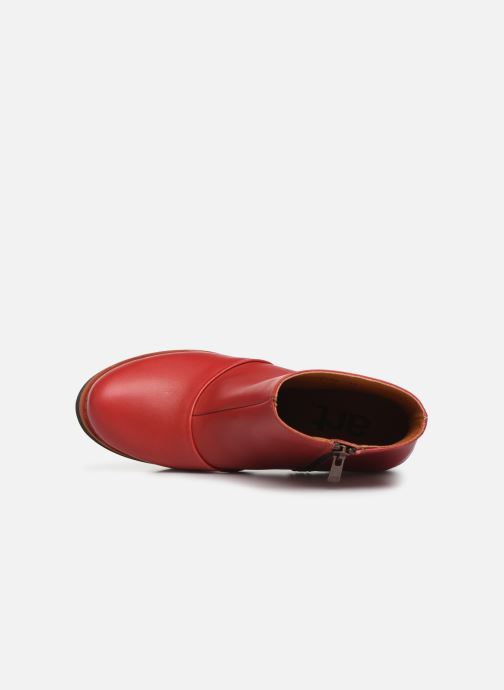 Stiefeletten & Boots Art GRAN VIA  1142 rot ansicht von links