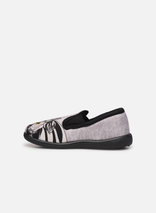 Chaussons Batman Bat Bazar Gris vue face