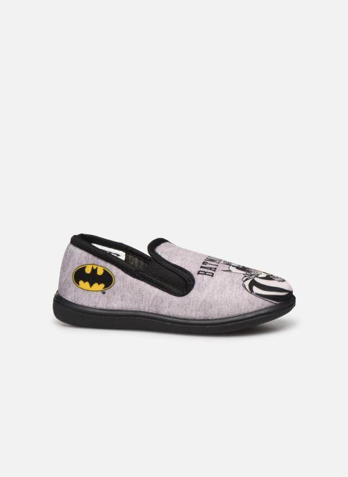 Chaussons Batman Bat Bazar Gris vue derrière