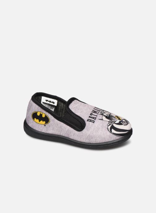 Pantuflas Batman Bat Bazar Gris vista de detalle / par