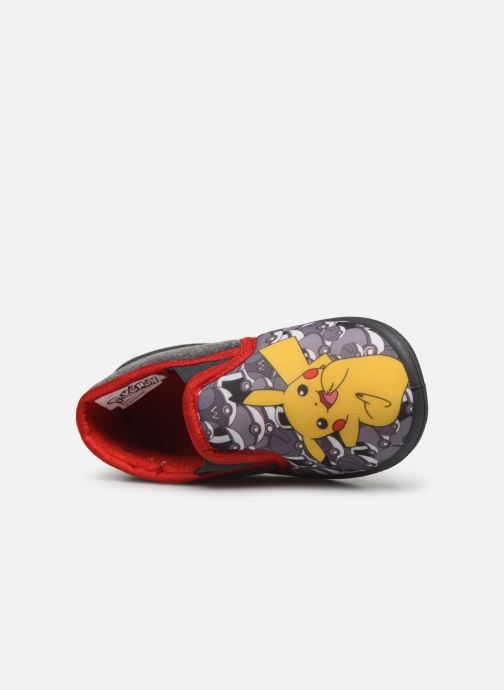 Pantoffels Pokemon Pk Bocrodil Grijs links