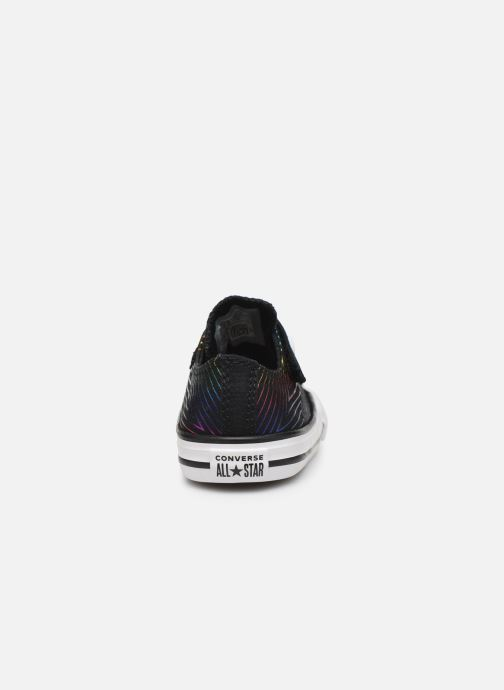 Baskets Converse Chuck Taylor All Star 1V All Of The Stars Ox Noir vue droite