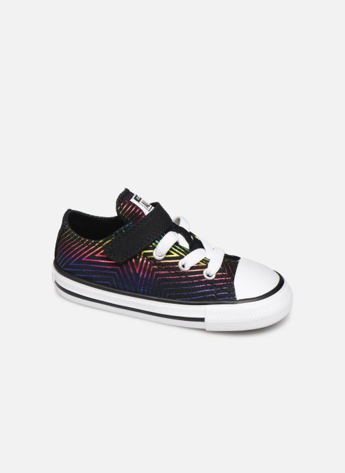 Baskets Converse Chuck Taylor All Star 1V All Of The Stars Ox Noir vue détail/paire