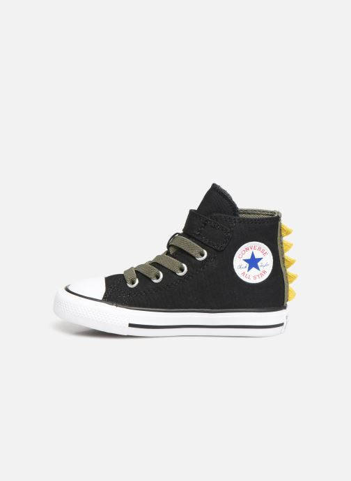 Sneakers Converse Chuck Taylor All Star 1V Dino Spikes Hi Zwart voorkant