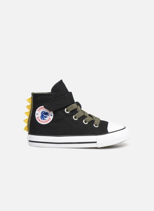 Sneakers Converse Chuck Taylor All Star 1V Dino Spikes Hi Zwart achterkant