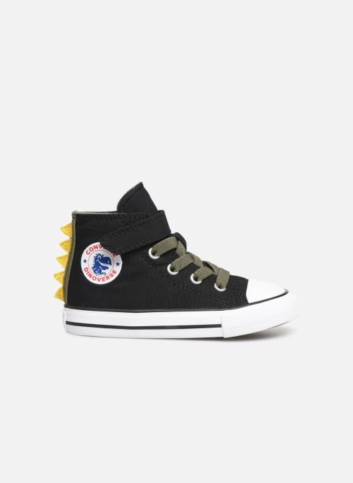 Sneakers Converse Chuck Taylor All Star 1V Dino Spikes Hi Zwart achterkant