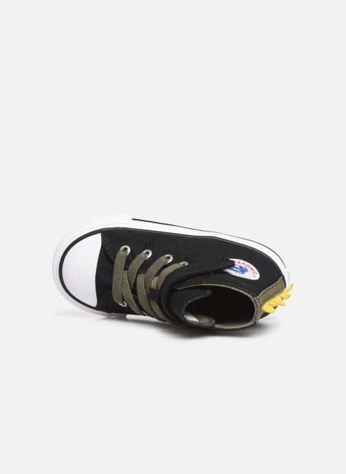 Sneakers Converse Chuck Taylor All Star 1V Dino Spikes Hi Zwart links