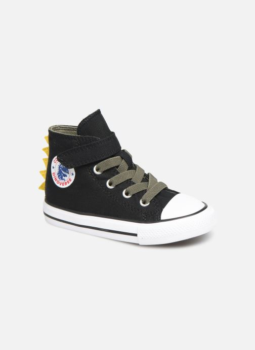 Sneakers Converse Chuck Taylor All Star 1V Dino Spikes Hi Zwart detail