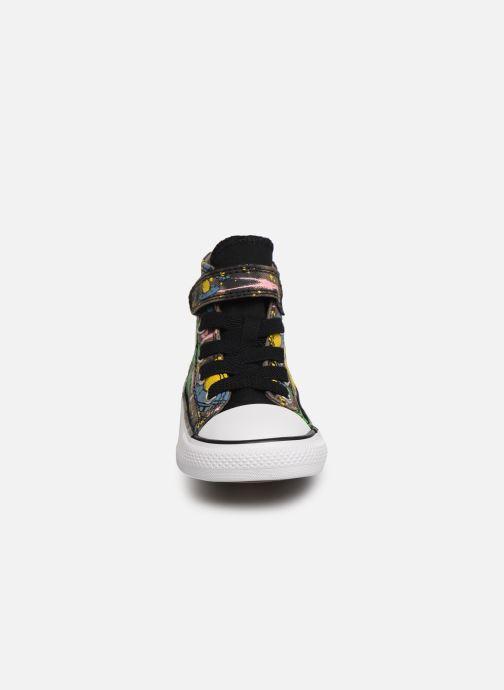 Baskets Converse Chuck Taylor All Star 1V Interstellar Dino'S Hi Multicolore vue portées chaussures
