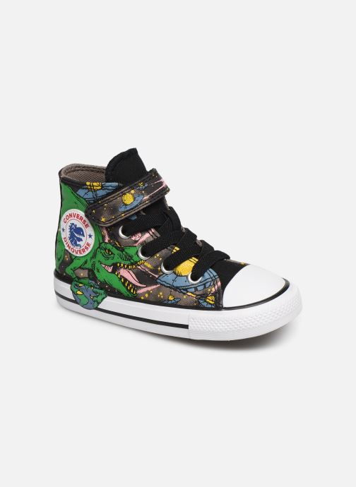 Baskets Converse Chuck Taylor All Star 1V Interstellar Dino'S Hi Multicolore vue détail/paire