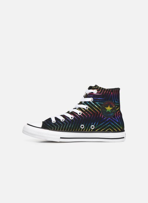 Sneakers Converse Chuck Taylor All Star All Of The Stars Hi Zwart voorkant