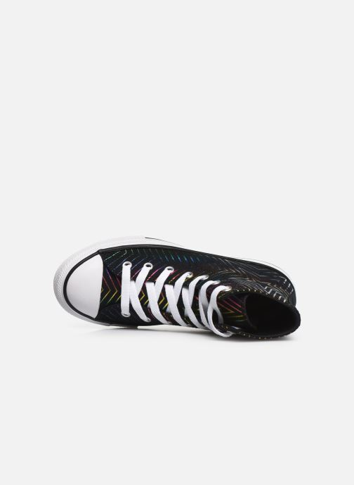 Trainers Converse Chuck Taylor All Star All Of The Stars Hi Black view from the left