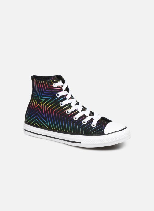 Baskets Converse Chuck Taylor All Star All Of The Stars Hi Noir vue détail/paire