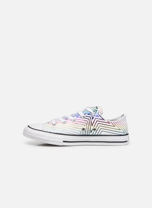 Trainers Converse Chuck Taylor All Star All Of The Stars Ox White front view