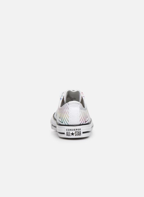 Trainers Converse Chuck Taylor All Star All Of The Stars Ox White view from the right