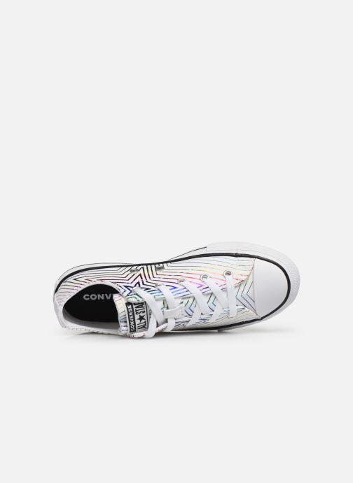 Sneaker Converse Chuck Taylor All Star All Of The Stars Ox weiß ansicht von links