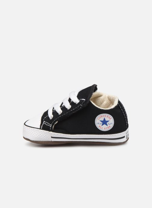 Sneakers Converse Chuck Taylor All Star Cribster Canvas Mid Zwart voorkant