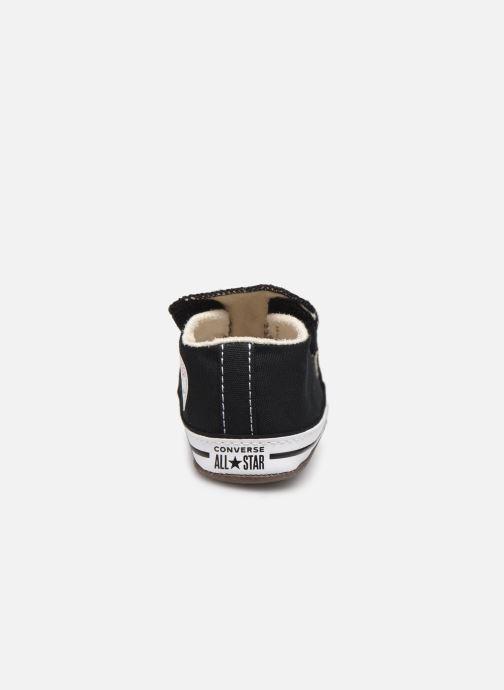 Sneaker Converse Chuck Taylor All Star Cribster Canvas Mid schwarz ansicht von rechts