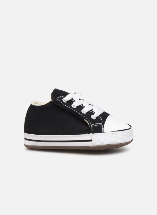 Sneakers Converse Chuck Taylor All Star Cribster Canvas Mid Zwart achterkant